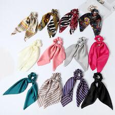 Hot Elastic Girl Bow Ribbon Rope Hair Band Hair Accessories Hair Ties Hair Rope