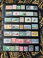 British Colonies New Zealand - Stamp Collection - MH - 2 Scans - Z2