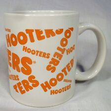 Hooters Coffee Mug w/ Logo 10 Ounce White