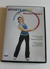 Sports Hoop workout Class 2, hula hoop exercise fitness DVD Heather Lipson