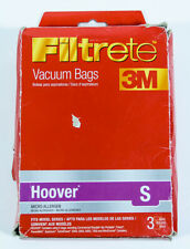 1 Filtrete 3M Micro Allergen Vacuum Bags - Fits Hoover S Brand Models 64705A
