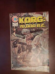 1975 Charlton Hana Barbera's Korg: 70,000 BC 2 VF  Free Shipping