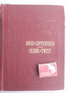 """CHARLES DICKENS. """"David Copperfield-Oliver Twist Illustrated  600 pages"""