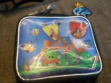 Angry Birds Insulated Lunch Box Bag Licensed by Rovio,  new with tags