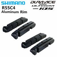 2 Pair - Shimano R55C4 Cartridge Road Brake Shoes - Dura-Ace Ultegra 105