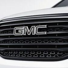 2017-2019 GMC ACADIA FRONT & REAR GMC EMBLEM IN BLACK 84378383