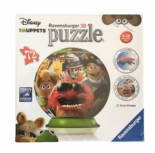 Ravensburger 3D The Muppets Puzzle Ball 72 Pieces Age 6 + Game Toy New & Sealed
