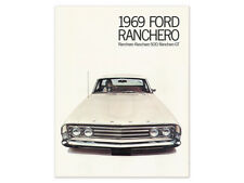 New 1969 Ranchero Sales Brochure 500 GT Dealership Promotional Ford