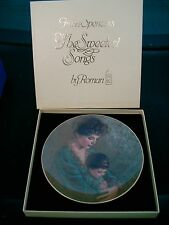"""A Baby's Prayer (Plate #1) """"The Sweetest Songs""""  Irene Spencer 3045 papers/box"""