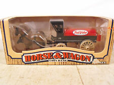 Horse and Wagon Coin Bank from True Value Hardware