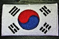 SOUTH KOREA Korean Country Flag Embroidered PATCH Badge *NEW*