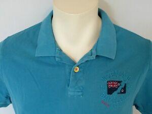 NZA New Zealand Auckland Herren Poloshirt Polo Shirt Hemd 100% Baumwolle Neu
