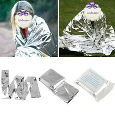 Waterproof Emergency Kits Folding First Aid Hiking Rescue Thermal Space Blanket