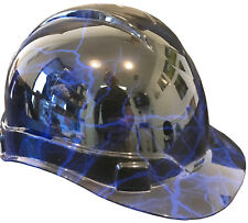 Hard Hat Ridgeline Standard Blue Lightning w/ Free BRB Customs T-Shirt