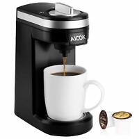 Aicok Single Serve Coffee Maker, for Most Single Cup Pods including K-Cup Pods