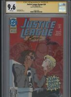 Justice League Europe #39 CGC 9.6 SS Ron Randall 1992
