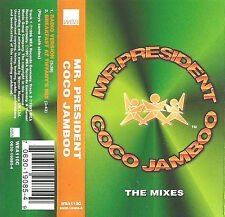 Mr. President Coco Jamboo (The Mixes) CASSETTE SINGLE WEA110C House Euro House