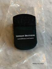 Rare Brand New Lehman Brothers Magnetic Clip Refrigerator Desk Wall Street NSYE