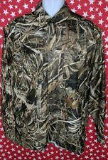 Drake Waterfowl Systems Men Camo Long Sleeve Button Down Vented Shirt Medium NEW
