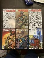 Teenage Mutant Ninja Turtles IDW #1-5 2011 NM Low Distribution Comic Lot