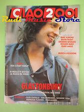 rivista CIAO 2001 31/1989 POSTER Bob Marley Marc Almond Diana Ross Bennato No cd