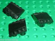 3 x LEGO black Slope Brick ref 30603 / Set 7713 8104 7691 8108 7711 7703 7644...