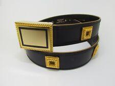 ESCADA 40 Ledergürtel Leder Gürtel leather belt !