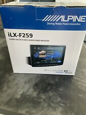 "Alpine Ilx-f259 Halo9 9"""" Digital Media Receiver Apple CarPlay Android Auto"