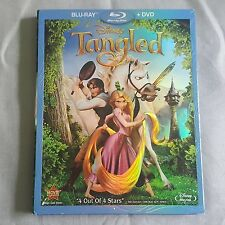 Pre-Owned Tangled Disney Blu Ray DVD Rapunzel