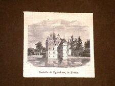 I Castelli della Danimarca Castello di Egesckow Fionia