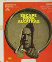 CED VIDEODISC ESCAPE FROM ALCATRAZ CLINT EASTWOOD