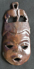 African Mahagony Carved Mask