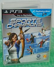 Sony PS3 Sports Champions Video Game Move Compatible Sports Showdown Eye Camera