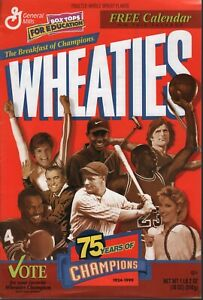 Wheaties 1999 Calendar Bruce Jenner Michael Jordan Tiger Woods 092820ame2