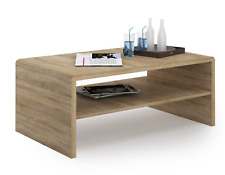 4 You Home Furniture Designer Contemporary Modern Coffee Table In Sonoma Oak