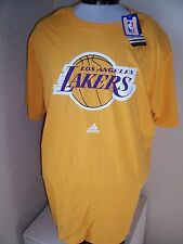 Adidas L.A LAKERS 2XL XXL T shirt NWT NEW Combine shipping use Ebay cart