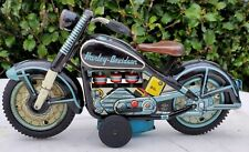 Vintage 1959 Harley Davidson Motorcycle w/ Friction Piston Action-T.N Nomura