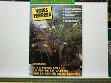 Revue VOIES FERREES 145 Grand Confort Mediterr Réseau Noyelle PN sud Modélisme