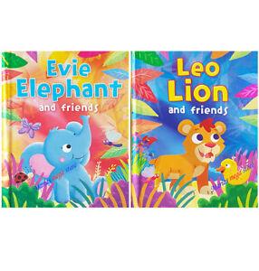 CHILDRENS KIDS READING BOOKS STORY BOOK BEDTIME LEO LION EVIE ELEPHANT & FRIENDS