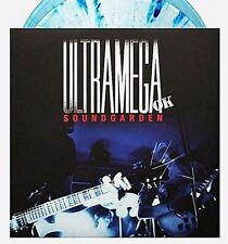 Soundgarden Ultramega OK Exclusive Clear/Blue Vinyl Newbury Comics Chris Cornell