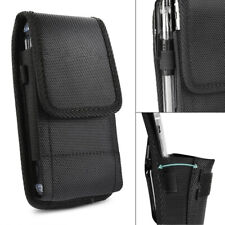 For 6.4-6.9inch Phone Belt Bag Clip Pouch Case Holder Outdoor W/ Card Slot