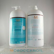 Moroccanoil Hydrating Shampoo & Conditioner 67.6 oz / 2 L Color Safe Combo Set