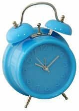 Bright Colour Alarm Clock - Blue