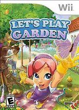 Let's Play Garden - Nintendo  Wii Game