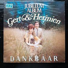 GERT EN HERMIEN - JUBILEUM ALBUM GERT & HERMIEN - DANKBAAR  - 2 LP