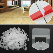 100-500Pcs 1.5mm Leveling System Clips Wall Flooring Tile Spacer Wedges  NEW