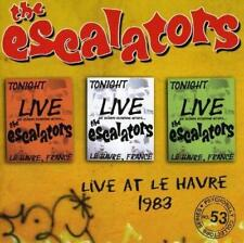 THE ESCALATORS - LIVE AT THE HAVRE 1983 (NEW CD)