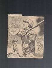 Joe Medwick & John Mize Cardinals Newspaper Cartoon Cut Out by Tom Paprocki