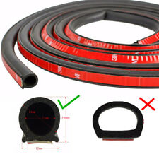 Upgraded Big D 4M Rubber Seal Self Adhesive Car Door Insulation Weatherstrip NEW