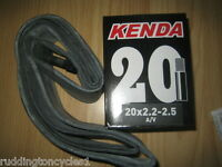 Kenda 20 x 2.2, 2.3,  2.5 BMX Cycle Bike inner tube Extra Wide Schrader Valve